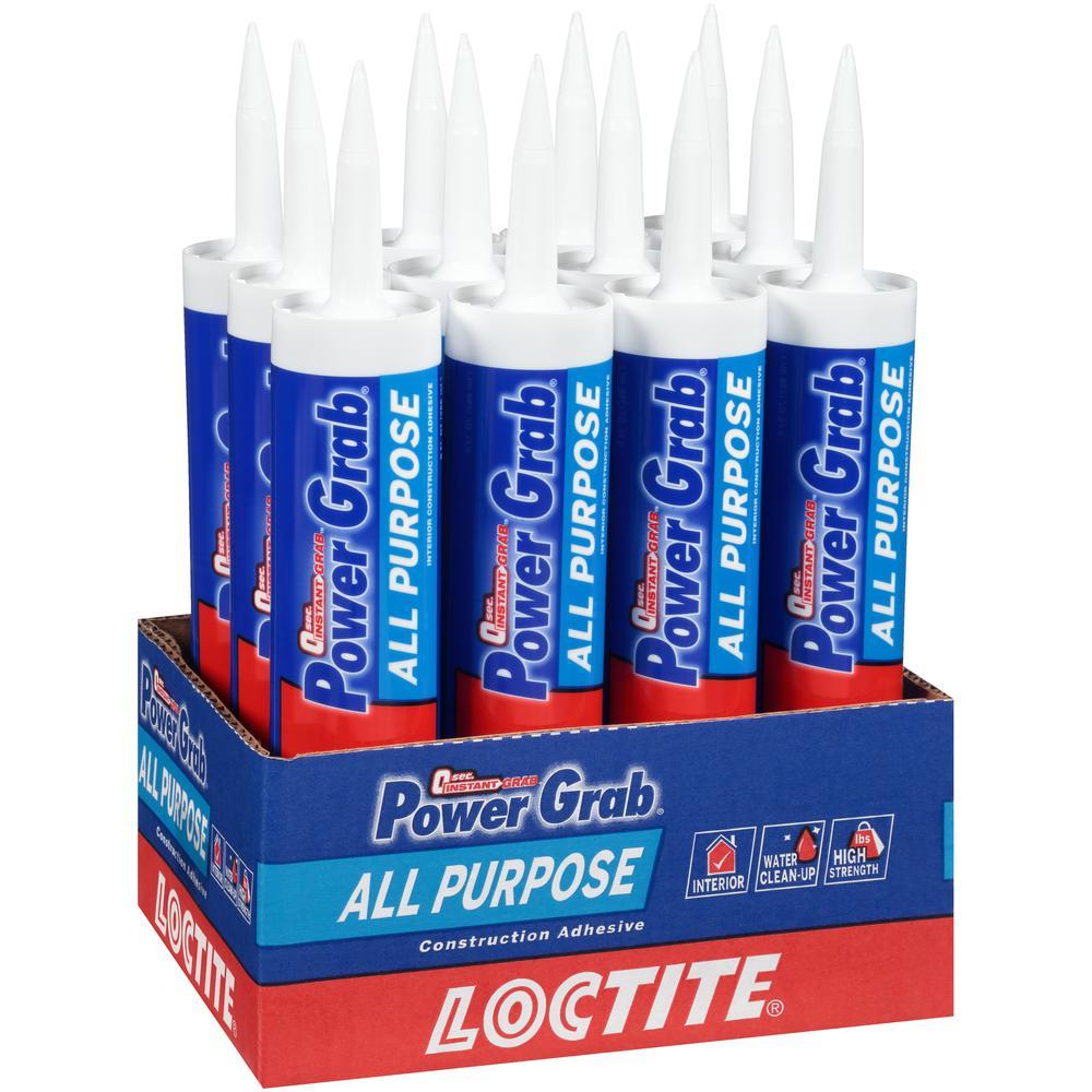 Power Grab Express 9 fl. oz. All Purpose Construction Adhesive (12-Pack)