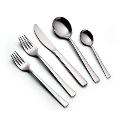 Berlin 20-Piece 18/10 Stainless Steel Flatware Set