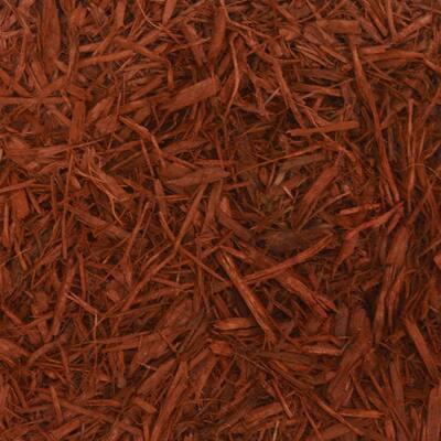 6 cu. yd. Red Landscape Bulk Mulch