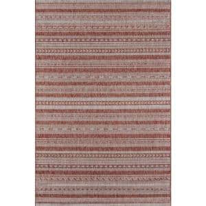 Tuscany Copper 3 ft. 3 in. x 5 ft. Indoor/Outdoor Area Rug