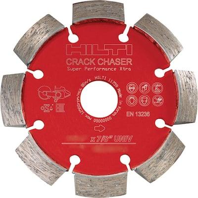 4-1/2 in. Crack Chaser Diamond SPX Cutting Disc for Concrete Repair 7/8 in. Arbor
