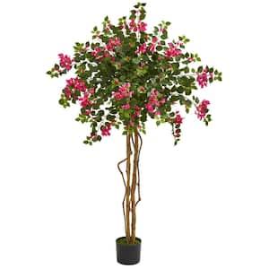Indoor 5.5 ft. Bougainvillea Artificial Tree