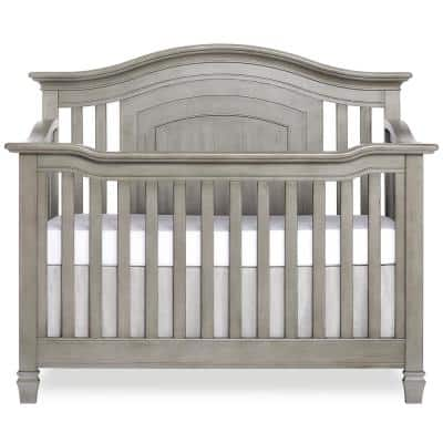 Fairbanks Ash grey 5-in-1 Convertible Crib