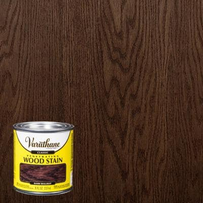 1 Gal. Dark Walnut Classic Wood Interior Stain (2-Pack)