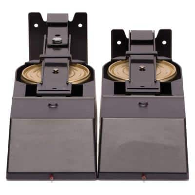 Microhood Cooktop Fire Suppressor in Black 1-Pair (2-Pack) (5-Pair/Case)