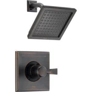 Dryden 1-Handle 1-Spray Raincan Shower Faucet Trim Kit in Venetian Bronze (Valve Not Included)