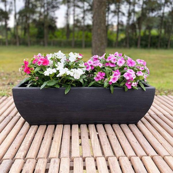Choix Jardini/ères pour Plantes Rouge F Fityle Planteurs Suspendus /à Cha/îne De Grands Pots De Fleurs en Plastique pour Lext/érieur