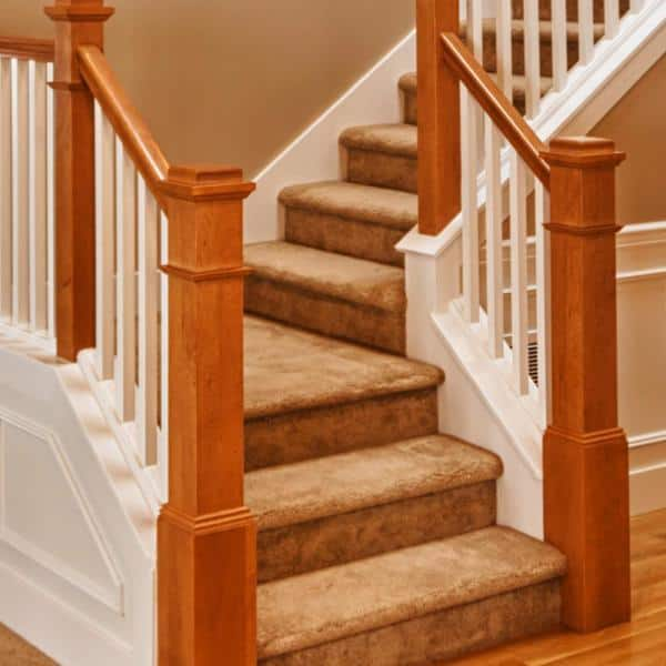 48 In X 11 1 2 In Unfinished Pine Stair Tread 8503e 048 Hd00l The Home Depot