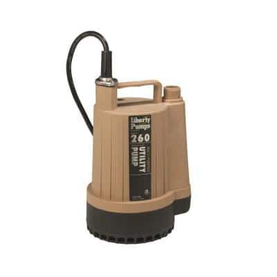1/6 HP Submersible Utility Pump