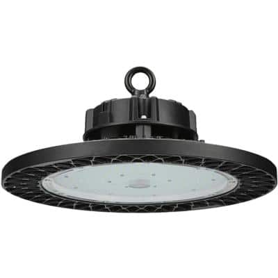 13.8 in. 200-Watt Equivalent Industrial Warehouse Integrated LED Dimmable White High Bay Light, 5000K