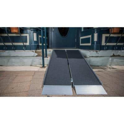 SUITCASE 6 ft. Singlefold Ramp with Applied Surface