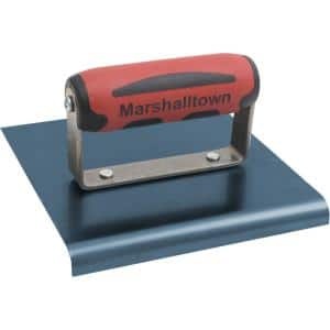 9 in. x 6 in. Blue Steel Edger with 3/8 in. R
