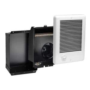 Com-Pak 1,000-Watt 120-Volt Fan-Forced In-Wall Electric Heater in White