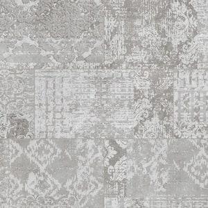 Waxahachie Gray 12 in. W x 23.82 in. L Luxury Vinyl Plank Flooring (23.82 sq. ft.)