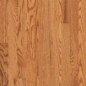 Plano Low Gloss 3/4 in. T x 2-1/4 in. W x Varying Length Marsh Solid Oak Hardwood Flooring (20 sq. ft./case)