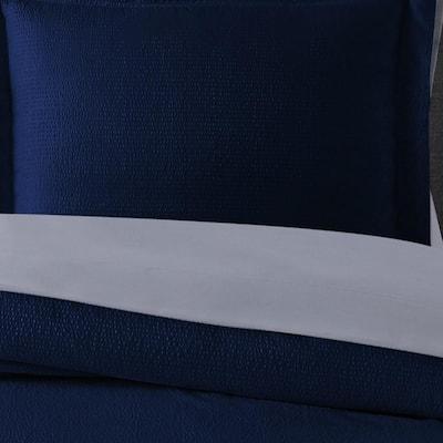 Antimicrobial Seersucker Microfiber Comforter Set