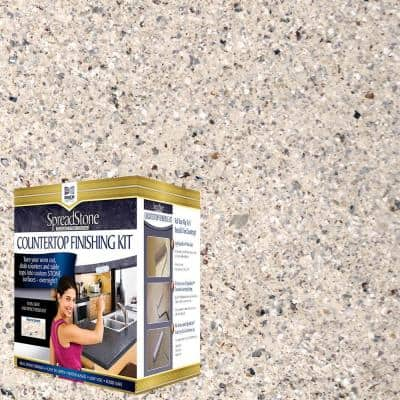 Mineral Select 1 qt. Oyster Countertop Refinishing Kit
