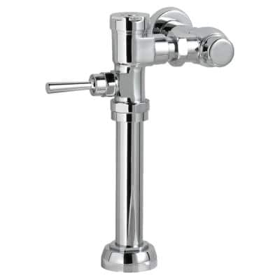 Ultima Manual 1.6 GPF Exposed Flushometer for 1-1/2 in. Top Spud Commercial Toilet Bowl