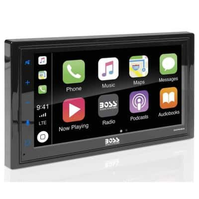 Audio Double DIN Bluetooth Touchscreen Multimedia Player and Backup Camera