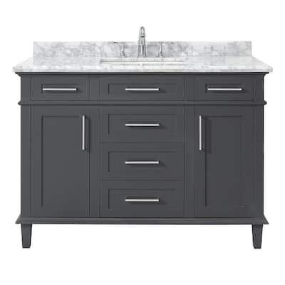 48 Inch Vanities Bathroom Vanities Bath The Home Depot