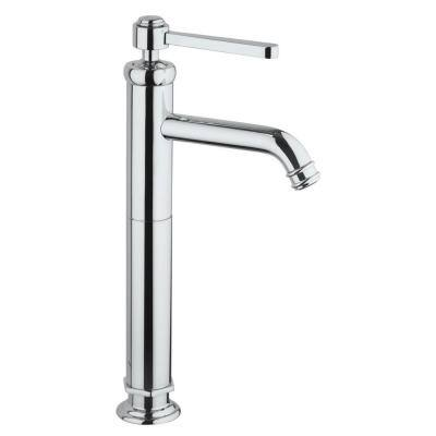 Firenze Single Hole Single-Handle Vessel Bathroom Faucet in Chrome