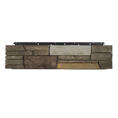 8 in. x 36 in. Versetta Stone Corner Ledgestone Sterling Siding (6-Bundles)