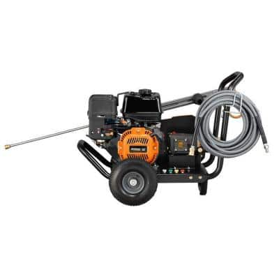 3,800 PSI 3.2 GPM Belt Drive Pro Power Gas Pressure Washer