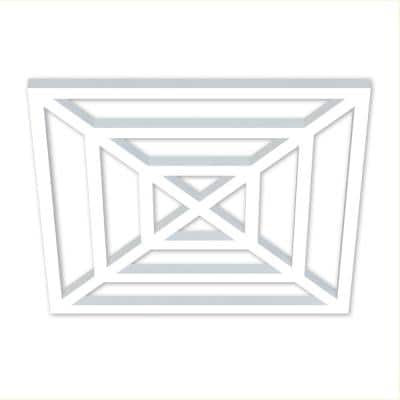 1-1/4 in. x 30 in. x 30 in. Providence Decorative Insert Square Web Pattern 3 for 36 in. Overall Rail Height