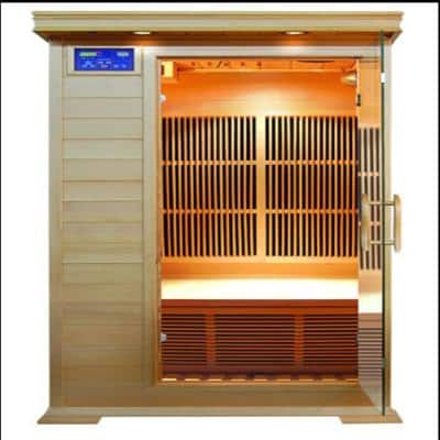 Barrett 1-Person Infrared Sauna with Carbon Heaters