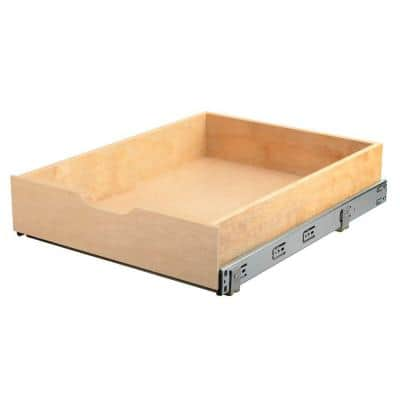 5 in. H x 17.625 in. W Sliding Shelves Soft-Close Wood Drawer Box
