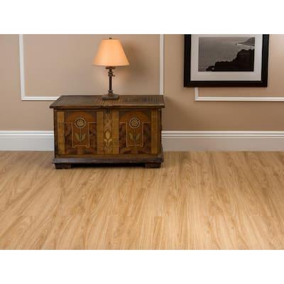 Sterling 36 in. Width Birchwood Water Resistant Peel & Stick Vinyl Plank Flooring (15 sq. ft./case)