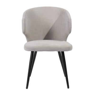Beige Dining Chair Upholstered (Set of 2)
