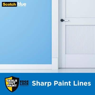 1.41 in. x 60 yds. Sharp Lines Multi-Surface Painter's Tape with Edge-Lock
