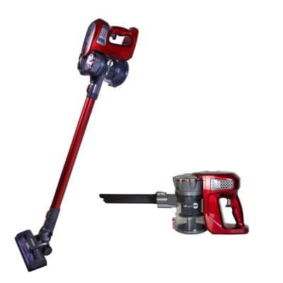Rapid Red Cordless Bagless Stick Vacuum Cleaner