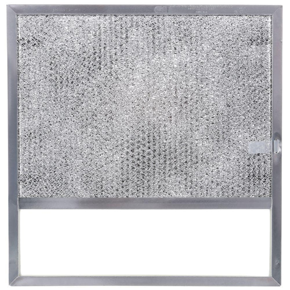Broan Nutone 43000 Series Ductless Range Hood Replacement Filter With Light Lens 1 Each Sr610050 The Home Depot