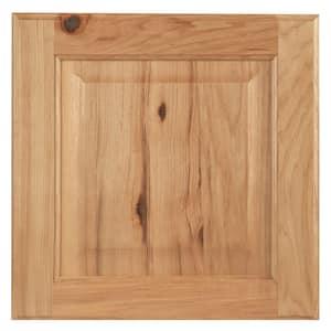 Hampton 14.5 x 14.5 in. Cabinet Door Sample in Natural Hickory
