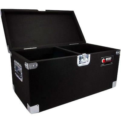 Carpeted Pro DJ Case with Detachable Lid for 200 LP Vinyl Records