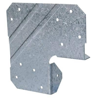 LCE Galvanized End Post Cap for 4x Nominal Lumber