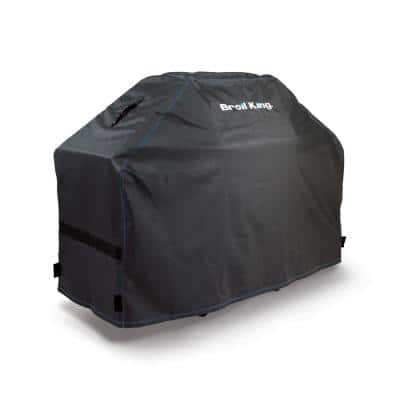 Premium 51 in. PVC/Polyester Grill Cover