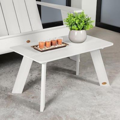 Italica Modern Outdoor Plastic Coffee Table
