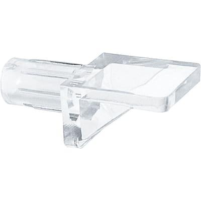 1/4 in. Clear Plastic 5 lbs. Shelf Peg (8-pack)