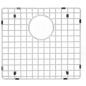 20-1/2 in. x 15-1/2 in. Stainless Steel Bottom Grid