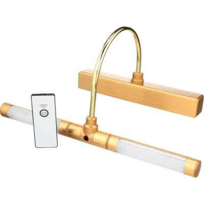 LED Gold Wireless Picture Light with Remote Control