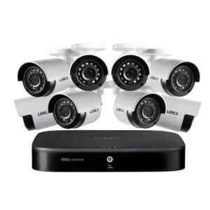 DIY 8 Channel HD1080p DVR with 1TB HDD Surveillance System and 8x HD Weatherproof Indoor/Outdoor Wired Cameras