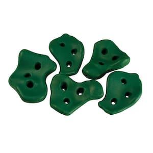 Green Rock Wall Rocks (5-Piece Set)