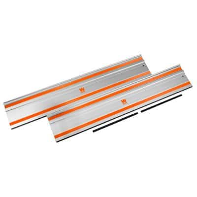 100 in. Track Saw Track Guide Rail and Adapters