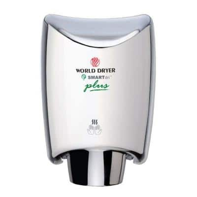 SMARTdri Plus Electric Hand Dryer in Polished Chrome