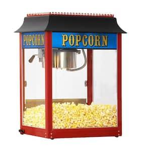 1911 Original 8 oz. Red Stainless Steel Countertop Popcorn Machine