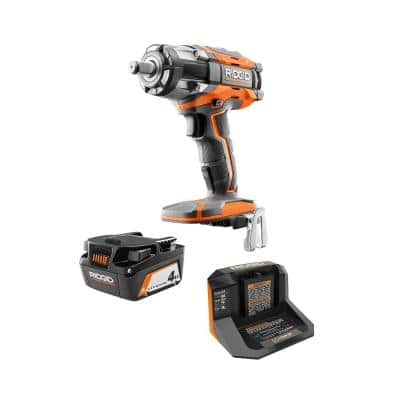 18V OCTANE Brushless Cordless 1/2 in. Impact Wrench Kit with (1) 4.0 Ah Battery and Charger