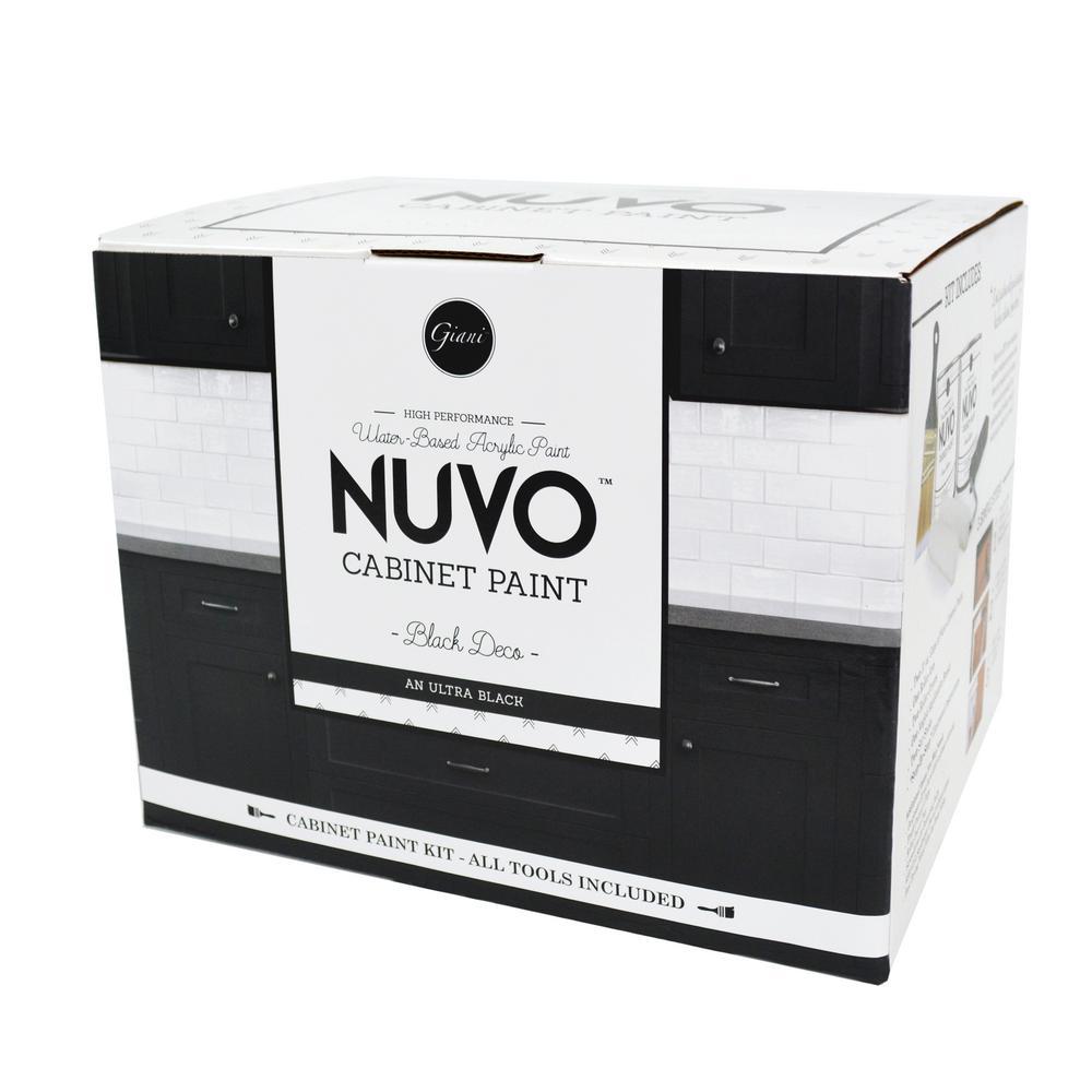2 qt. Black Deco Cabinet Paint Kit